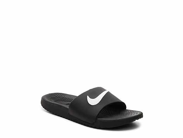 bedb697cd Nike. Kawa Toddler   Youth Slide Sandal