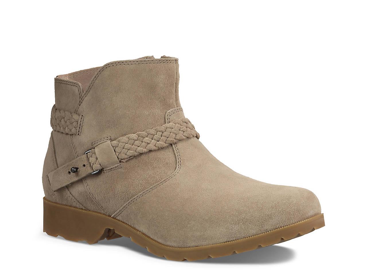 8e6886917207f5 Teva De La Vina Ankle Bootie Women s Shoes