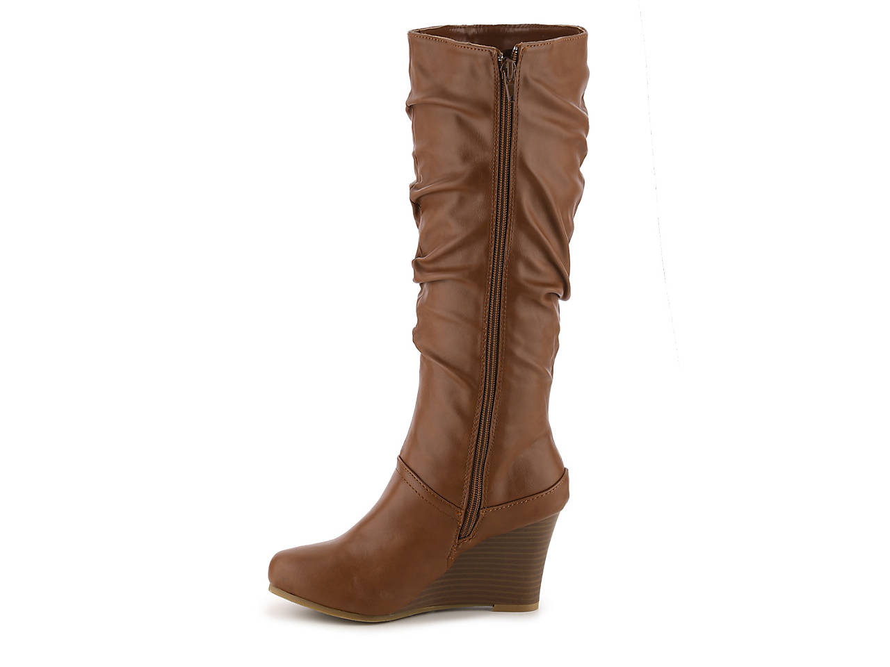 dee1f5bececc Journee Collection. Hana Wedge Boot. InStock.  59.99. Comp. value  100.00