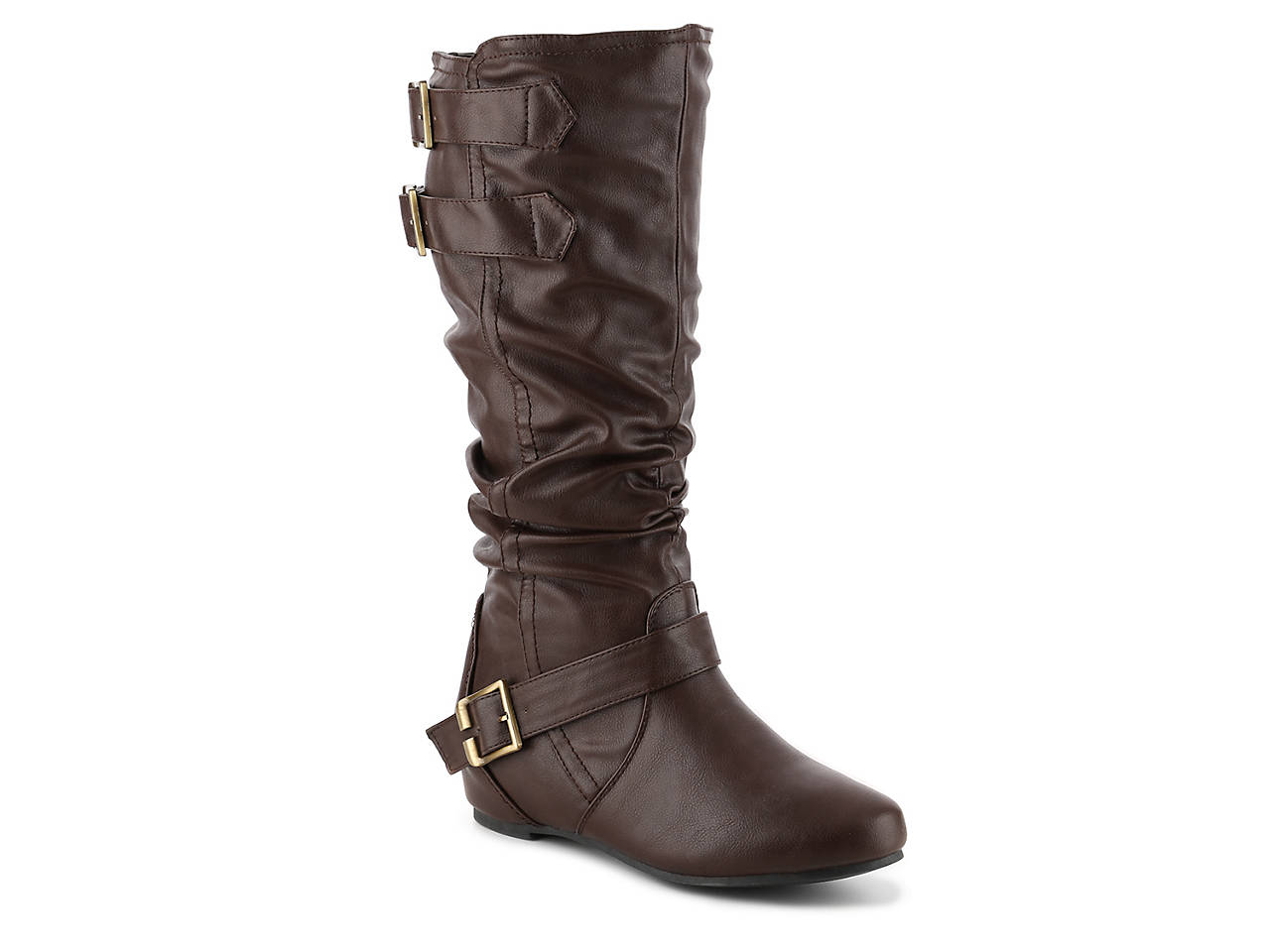 15068284cb30 Journee Collection Tiffany Wide Calf Boot Women s Shoes