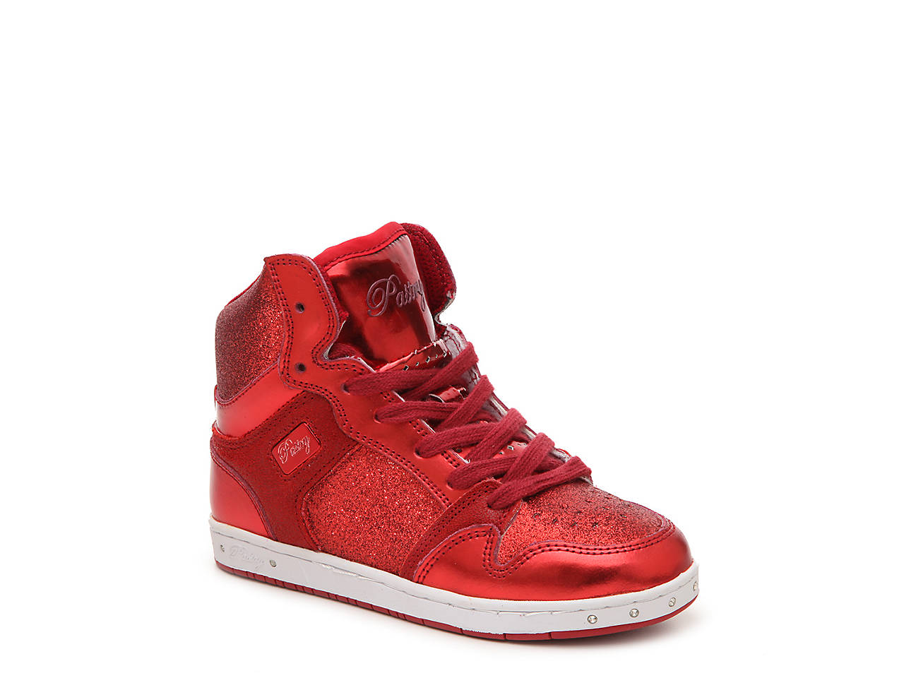 6bfeca38a39 Pastry Glam Pie Glitter Toddler   Youth High-Top Sneaker Kids Shoes ...