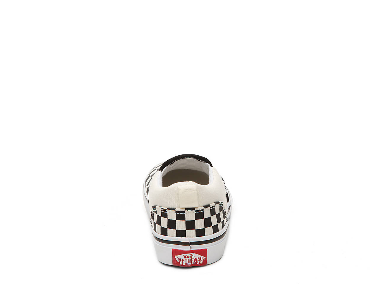 35f746de84 Vans Asher Checkers Toddler   Youth Slip-On Sneaker Kids Shoes