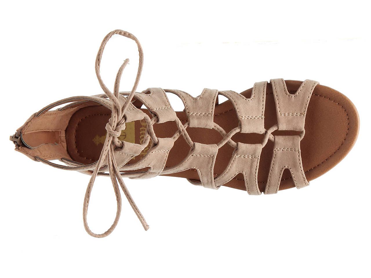 7332f838aa Crown Vintage Sarah Wedge Gladiator Sandal Women's Shoes   DSW
