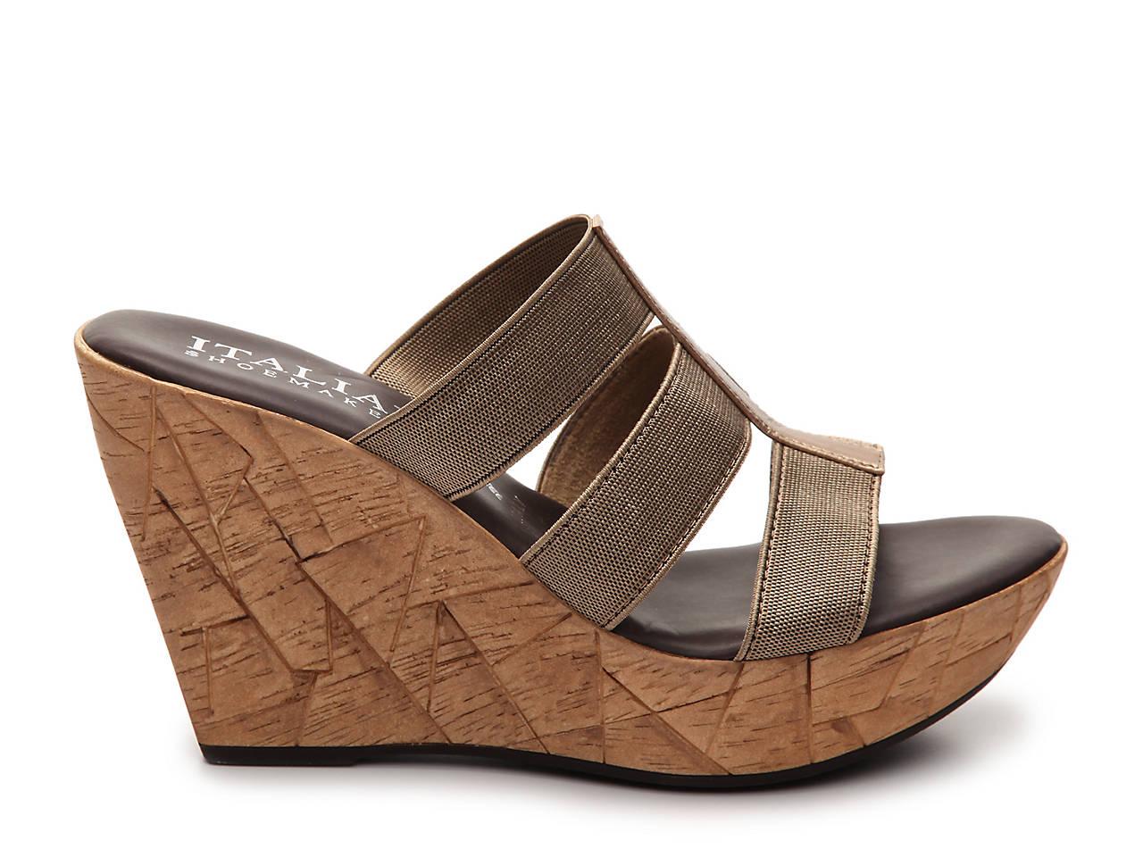 02f66230c8f3 Italian Shoemakers Mystic Wedge Sandal Women s Shoes