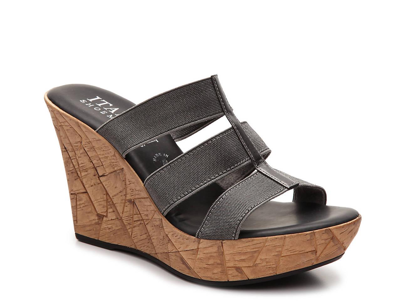 45e05545db11 Italian Shoemakers Mystic Wedge Sandal Women s Shoes