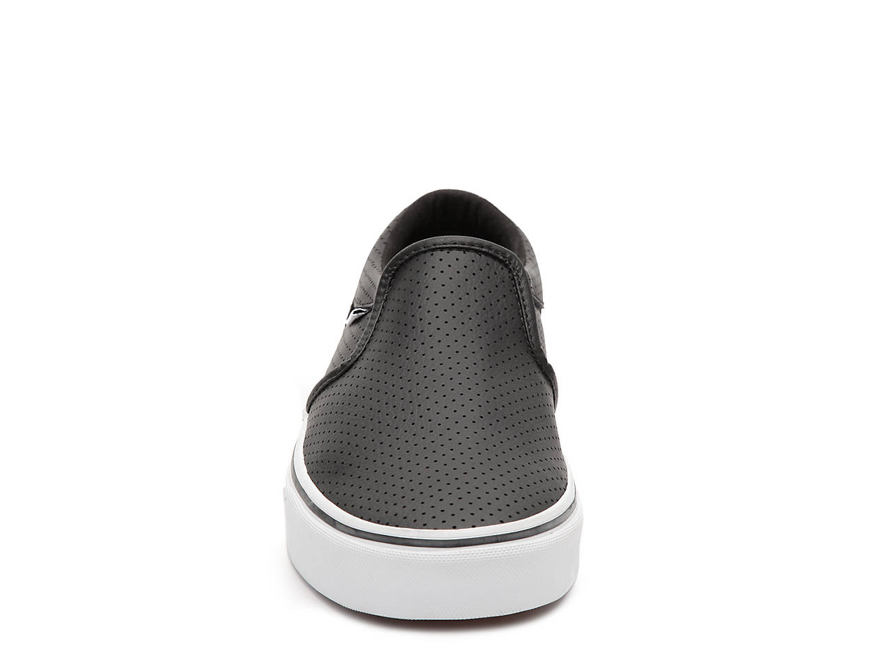 b57b8f8fe9e7 Vans Asher Perforated Leather Slip-On Sneaker - Men s Men s Shoes
