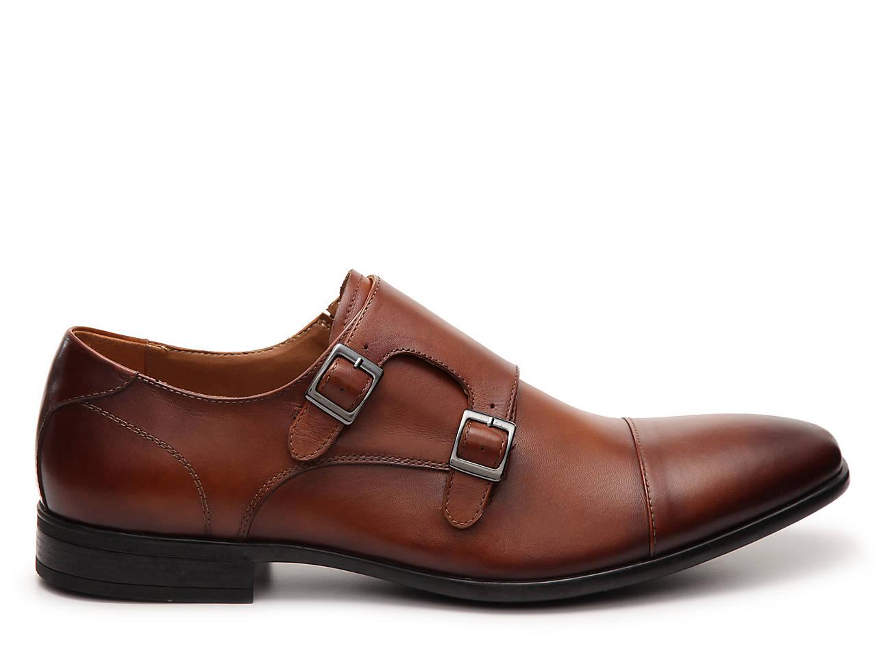 c123e6437c4087 Aldo Frecia Monk Strap Slip On Mens Shoes Dsw