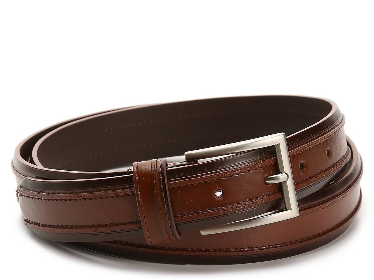 73d376a89657 Florsheim Ribbed Men s Belt Men s Handbags   Accessories