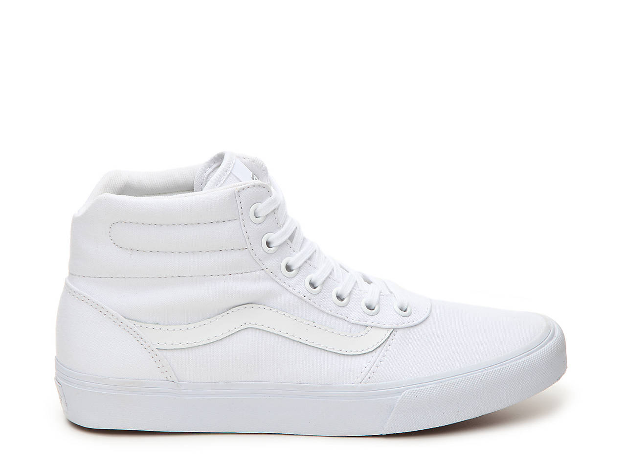 494b05c63d Vans Milton Hi Canvas High-Top Sneaker Men s Shoes