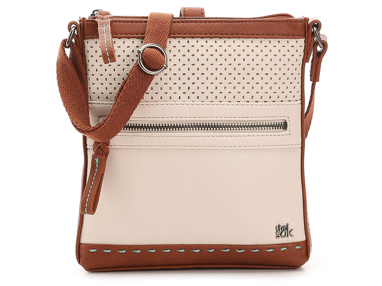 Pax Leather Crossbody Bag