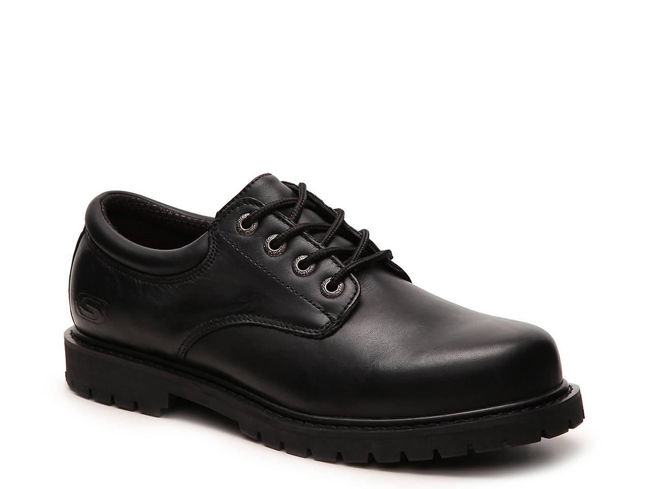 skechers relaxed fit memory foam work shoes