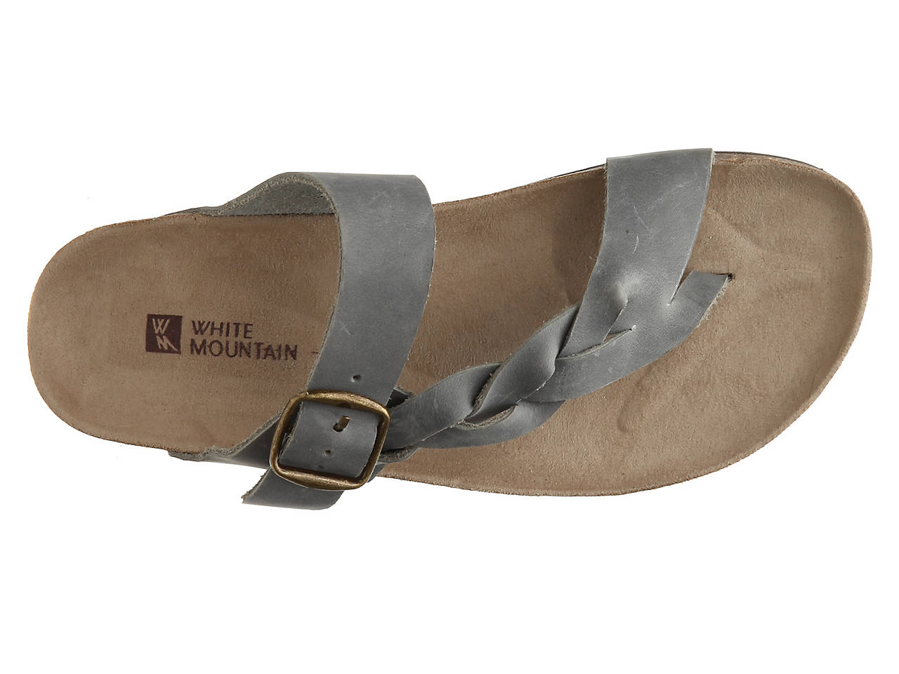 b14e3075da91 White Mountain Crawford Flat Sandal Women s Shoes