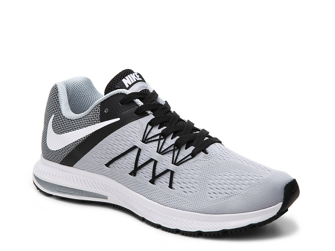 new styles dab03 eb714 ... nike running shoe wolf grey black a5cdd bf42e  where can i buy zoom  winflo 3 lightweight running shoe mens bc74b a6137