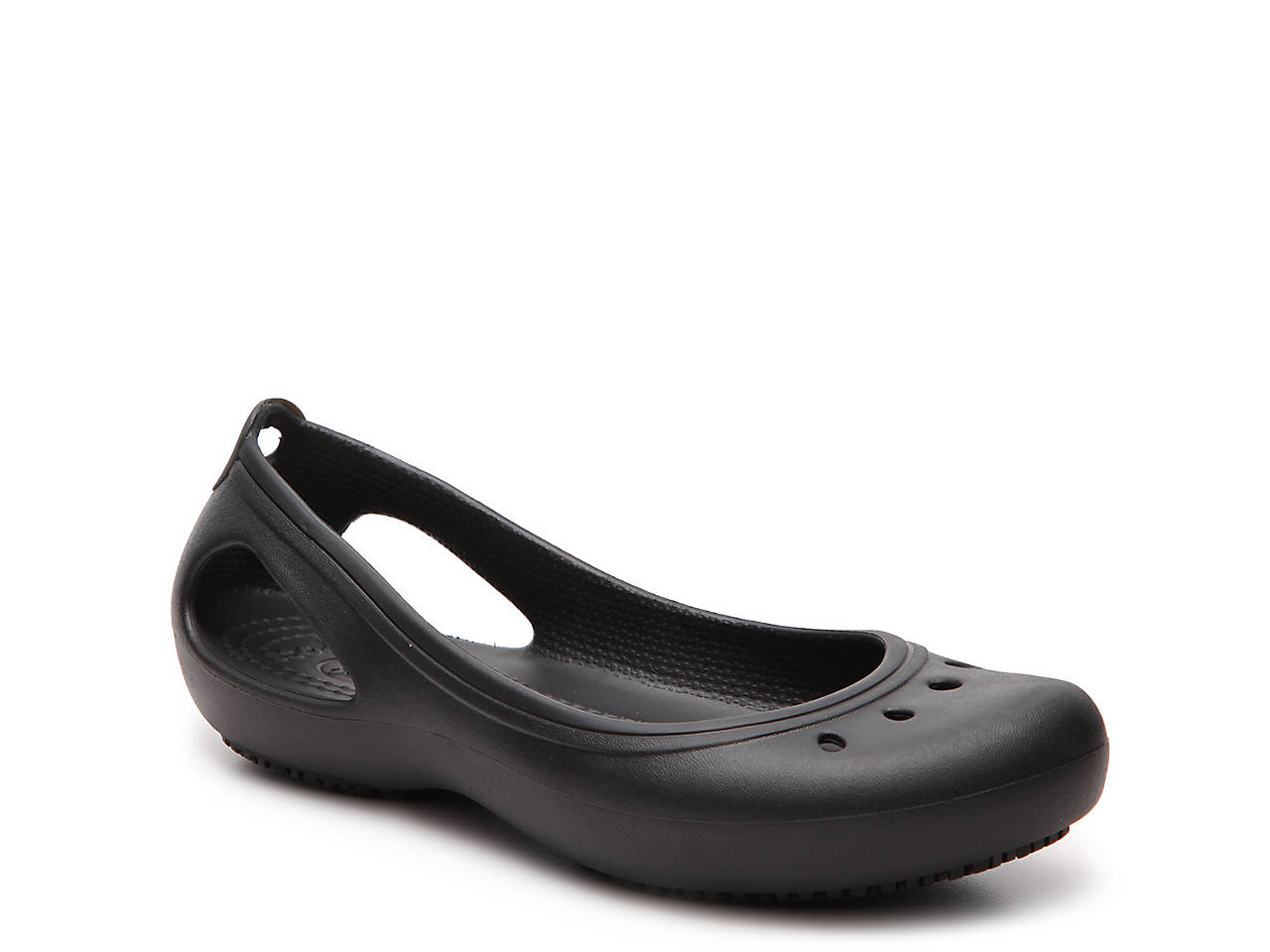 3ba42edfef Crocs Kadee Work Flat Women's Shoes | DSW