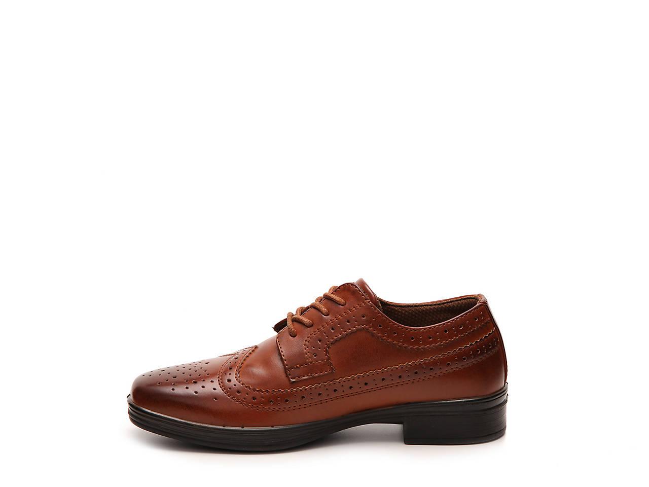 Joseph Allen Boys Wing Tip Oxford Dress Shoe Toddler, Little Kid, Big Kid