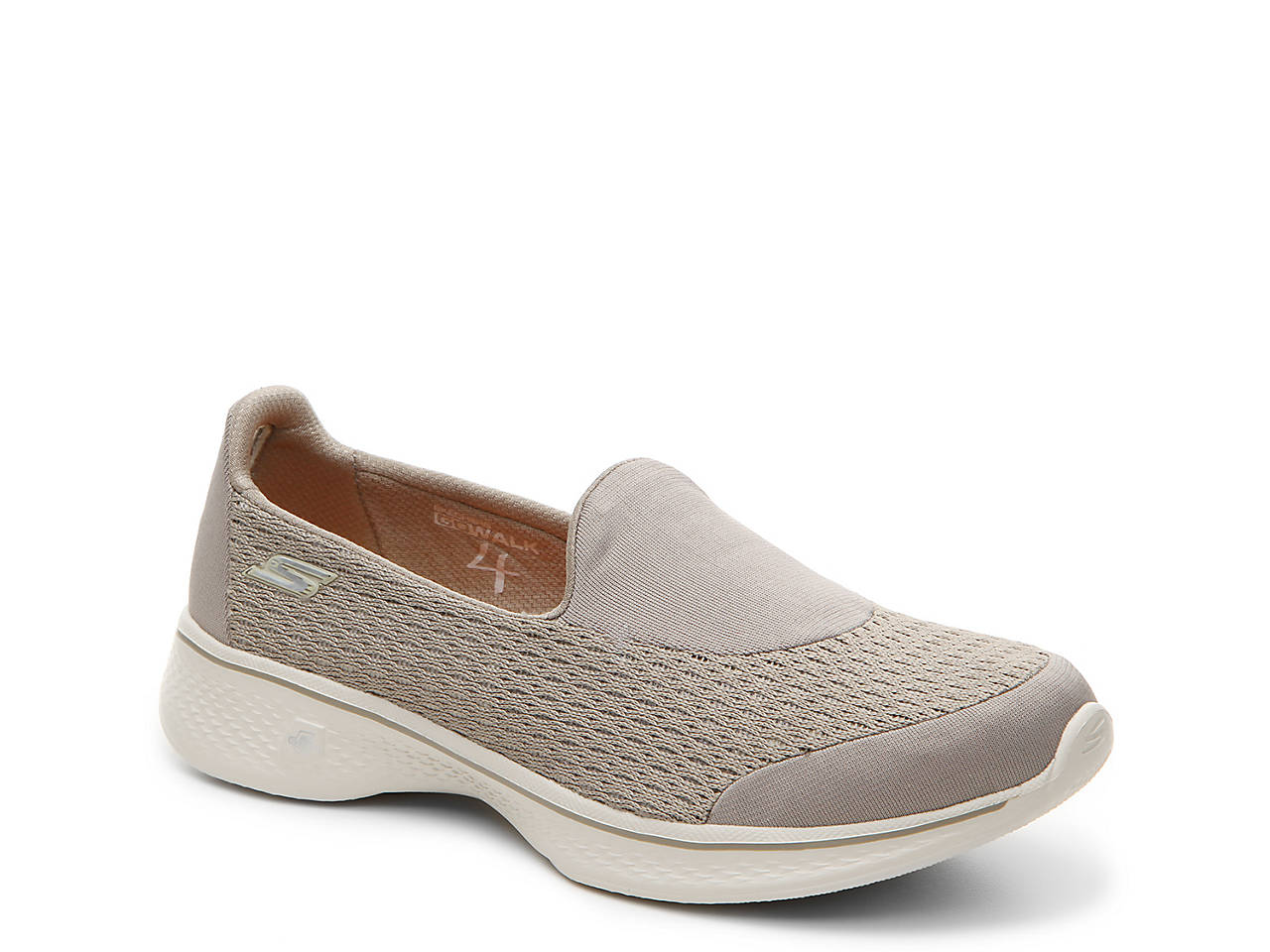 7ad85bbbd8908 Skechers GOwalk 4 Pursuit Slip-On Sneaker Women s Shoes