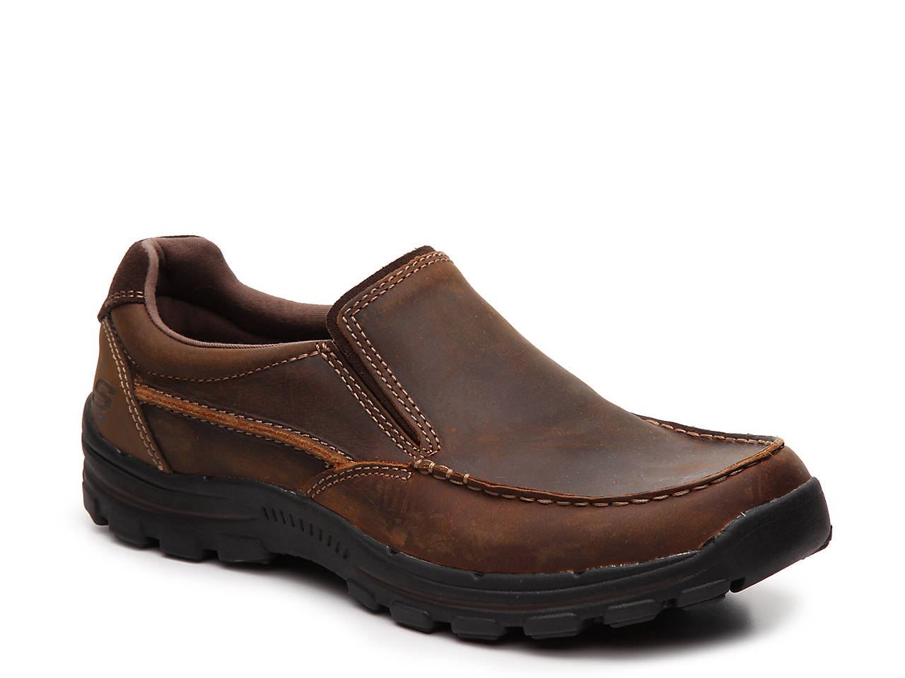 Sketchers Leather Mens Shoes