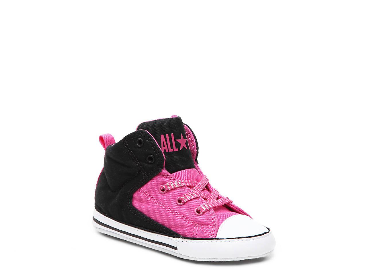 5385f3575dcd58 Converse Chuck Taylor All Star First Star High Street Infant Crib ...