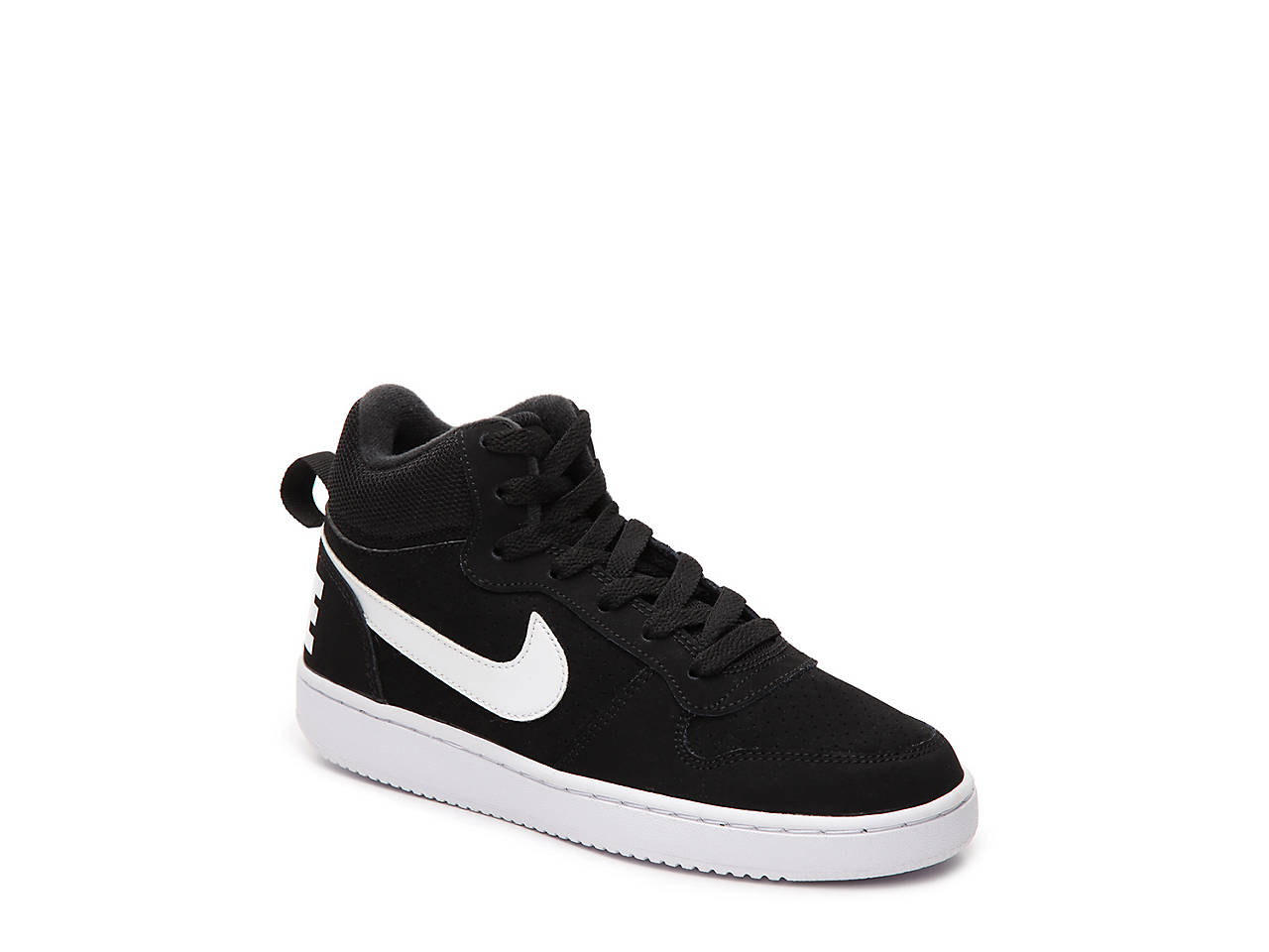 Nike Court Borough Youth High Top Sneaker Kids Shoes Dsw