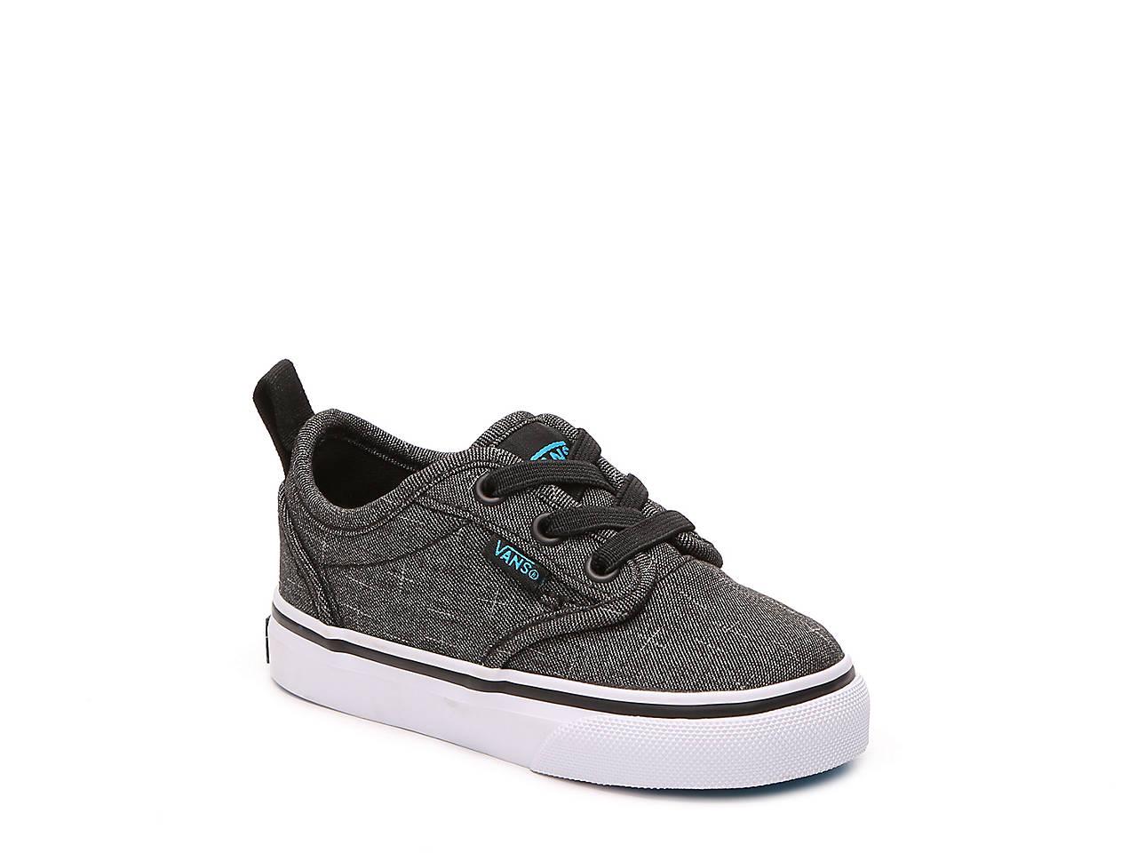8e4236271d Vans Atwood Infant   Toddler Slip-On Sneaker Kids Shoes