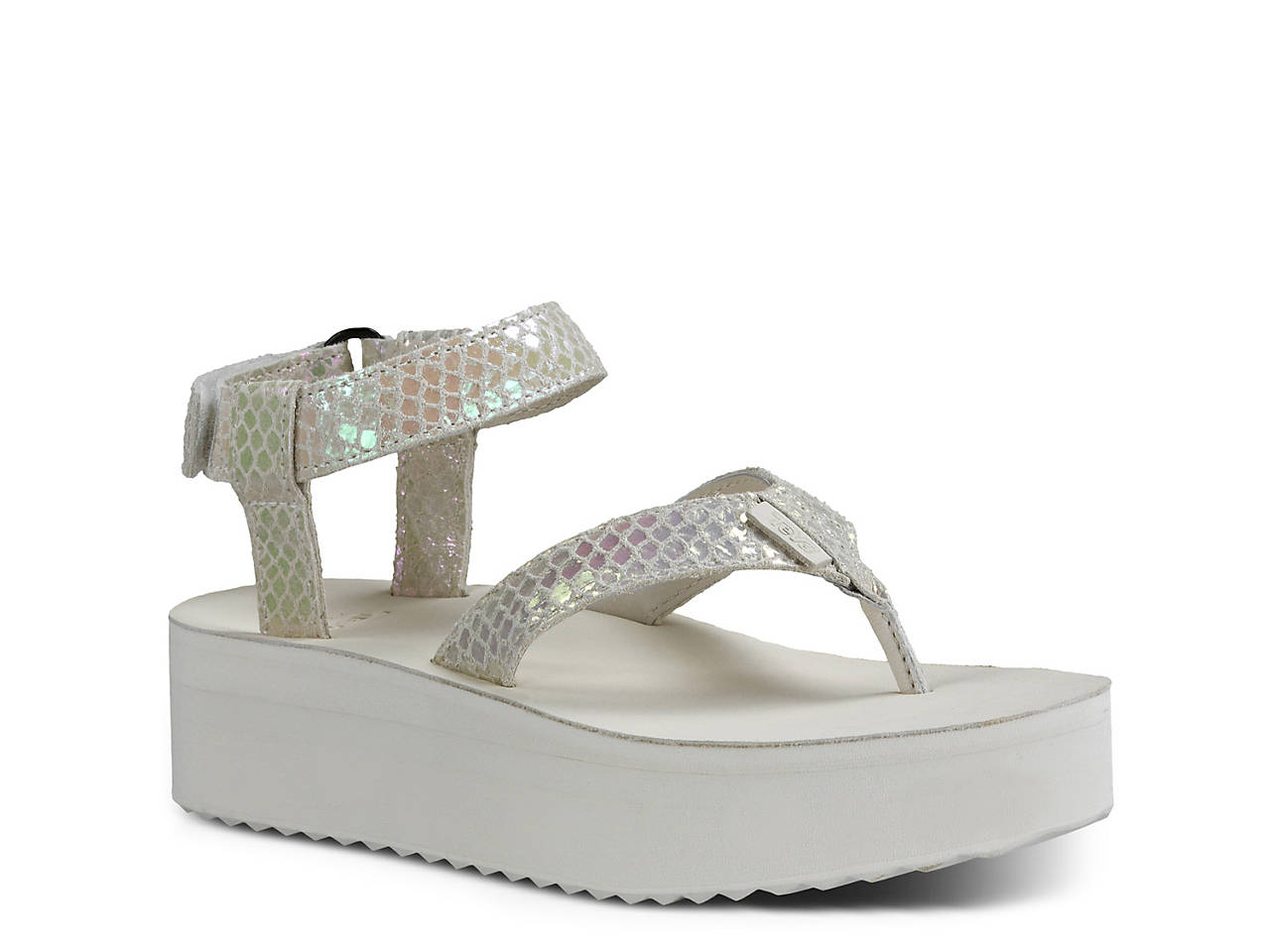 fad7cd40e05b Teva Flatform Universal Iridescent Sandal Women s Shoes