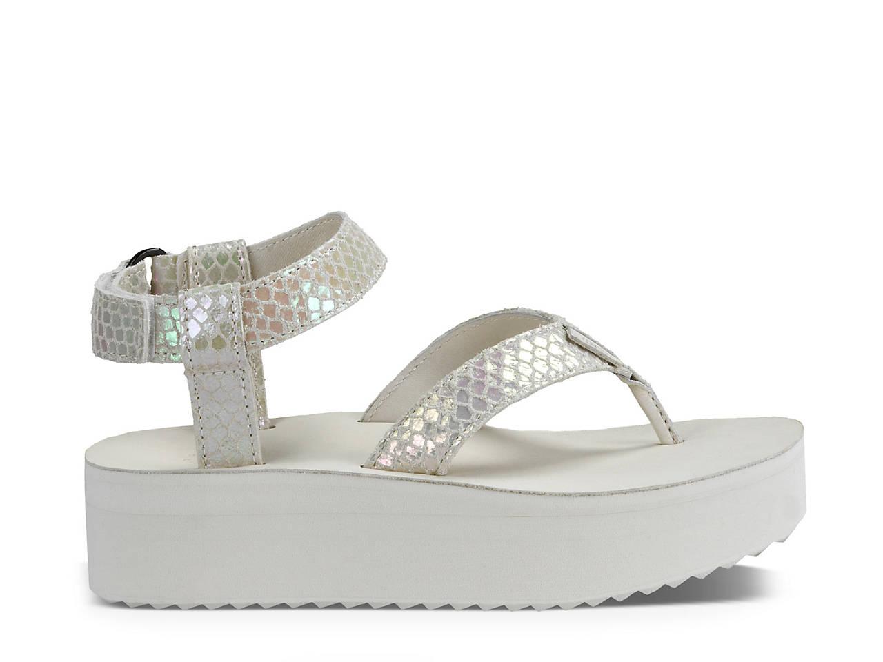 2ab83d524e4 Teva Flatform Universal Iridescent Sandal Women s Shoes