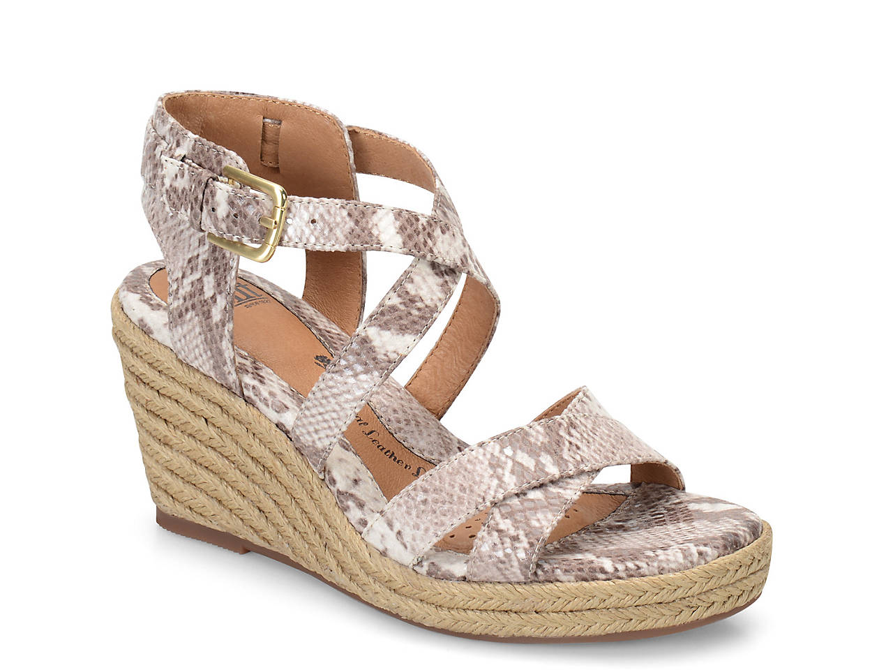77bc5755852f Sofft Inez Wedge Sandal Women s Shoes