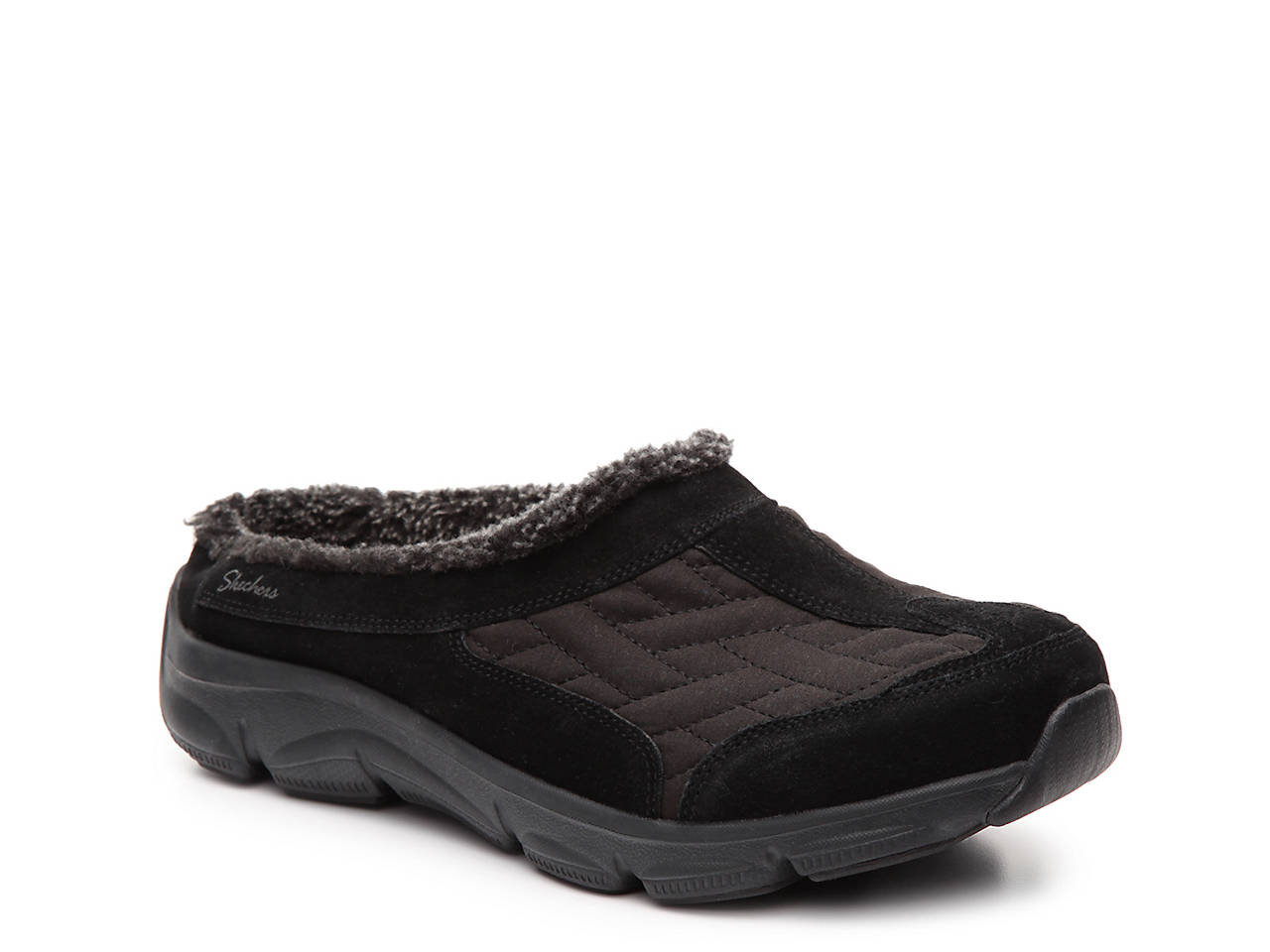 709c91237d94 Skechers Relaxed Fit Comfy Living Chillax Clog Women s Shoes
