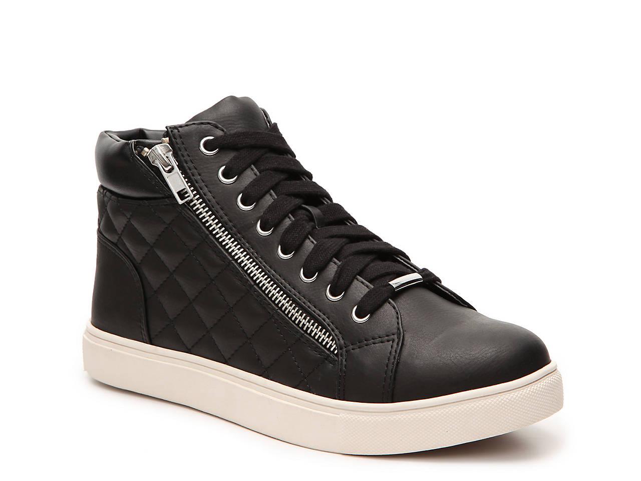5e23839a4fd Steve Madden Decaff High-Top Sneaker Women s Shoes
