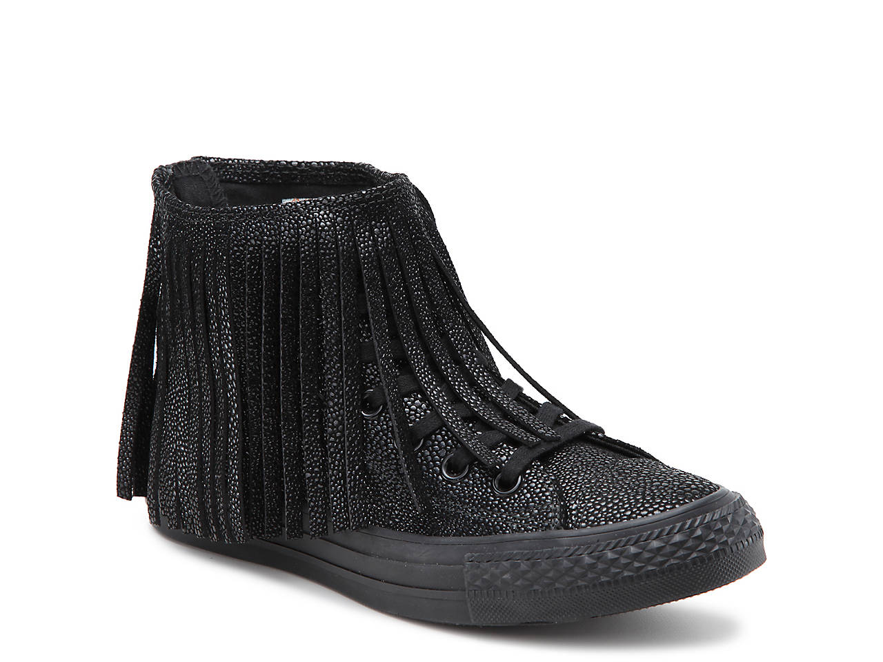 e260b8ddb7e2 Converse Chuck Taylor All Star Fringe High-Top Sneaker - Women s ...