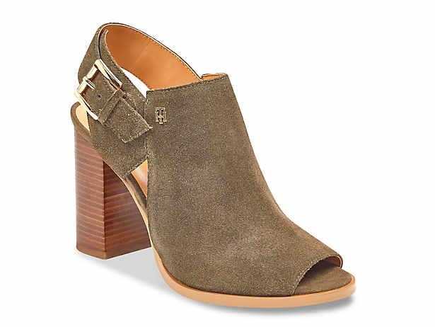 Tommy Hilfiger Katz Block-Heel Dress Sandals Women's Shoes TucQhlaK
