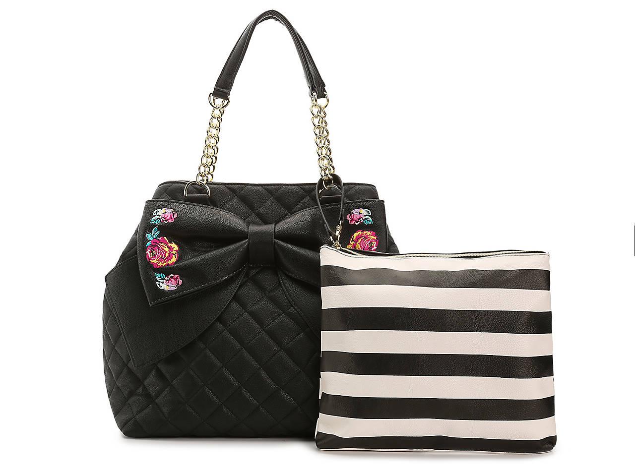 c6d1535d8a00 Betsey Johnson Trape Tote Women s Handbags   Accessories