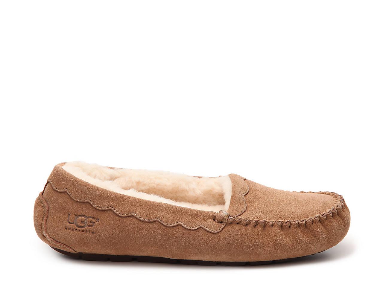 a6caa257c529 UGG Australia Scallop Suede Slipper Women s Shoes