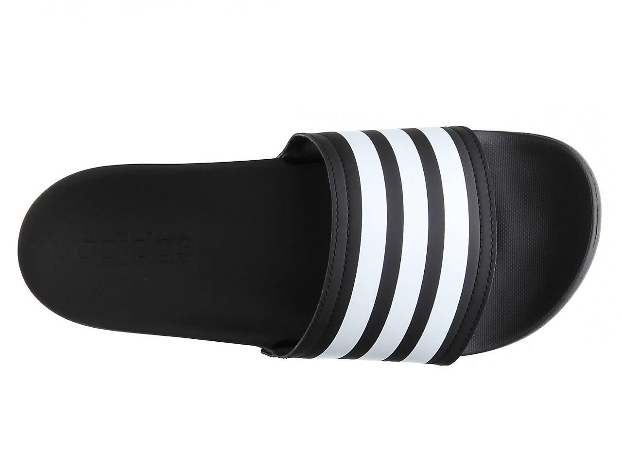 f7f5151bae9fc1 adidas Adilette Cloudfoam Ultra Stripes Slide Sandal - Women s ...