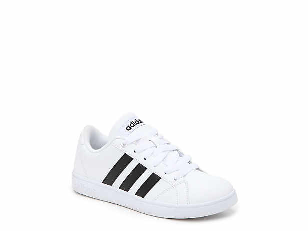 Baseline Toddler & Youth Sneaker. adidas