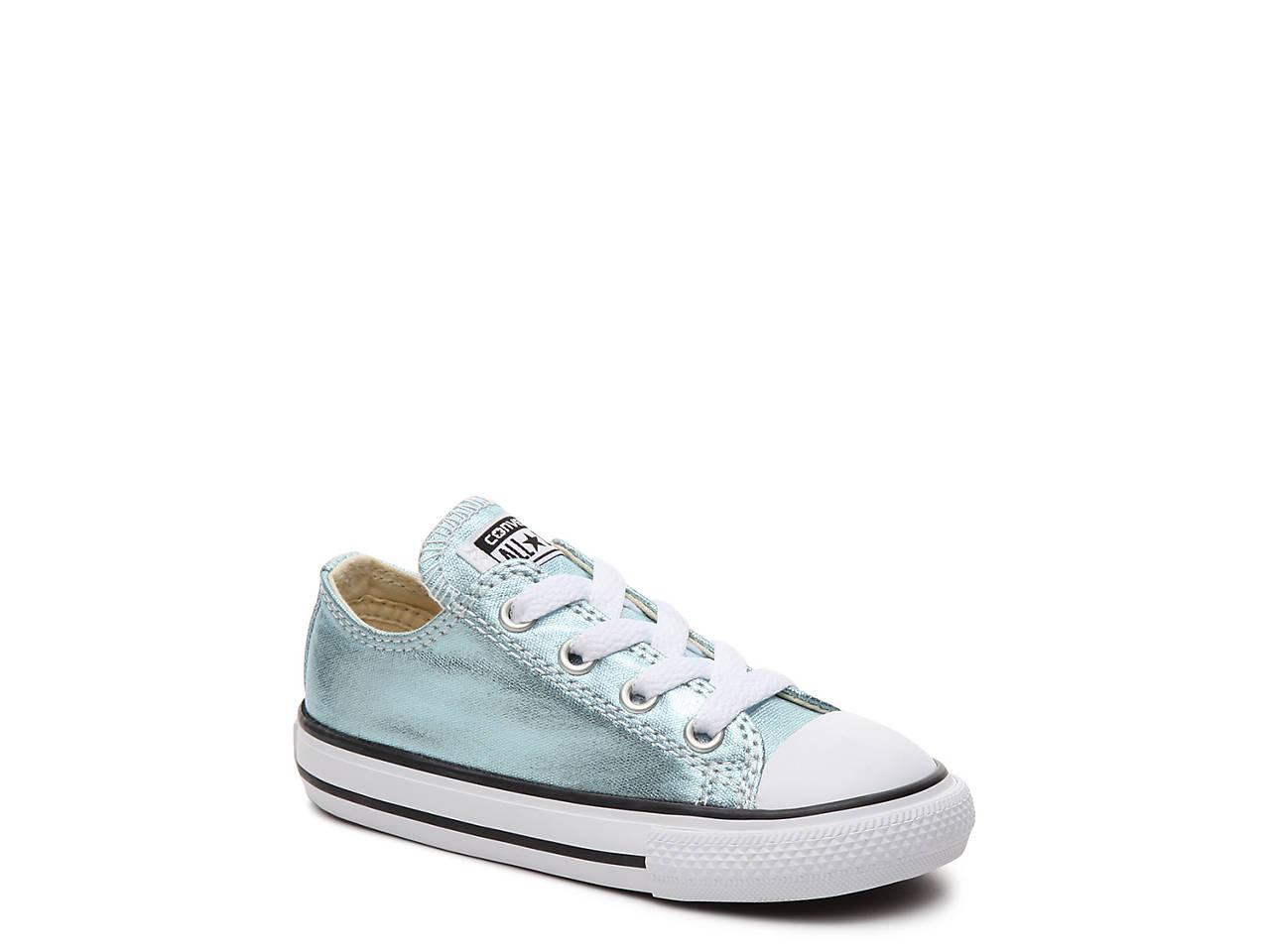 23cba82c5a0d Converse Chuck Taylor All Star Metallic Infant   Toddler Sneaker ...