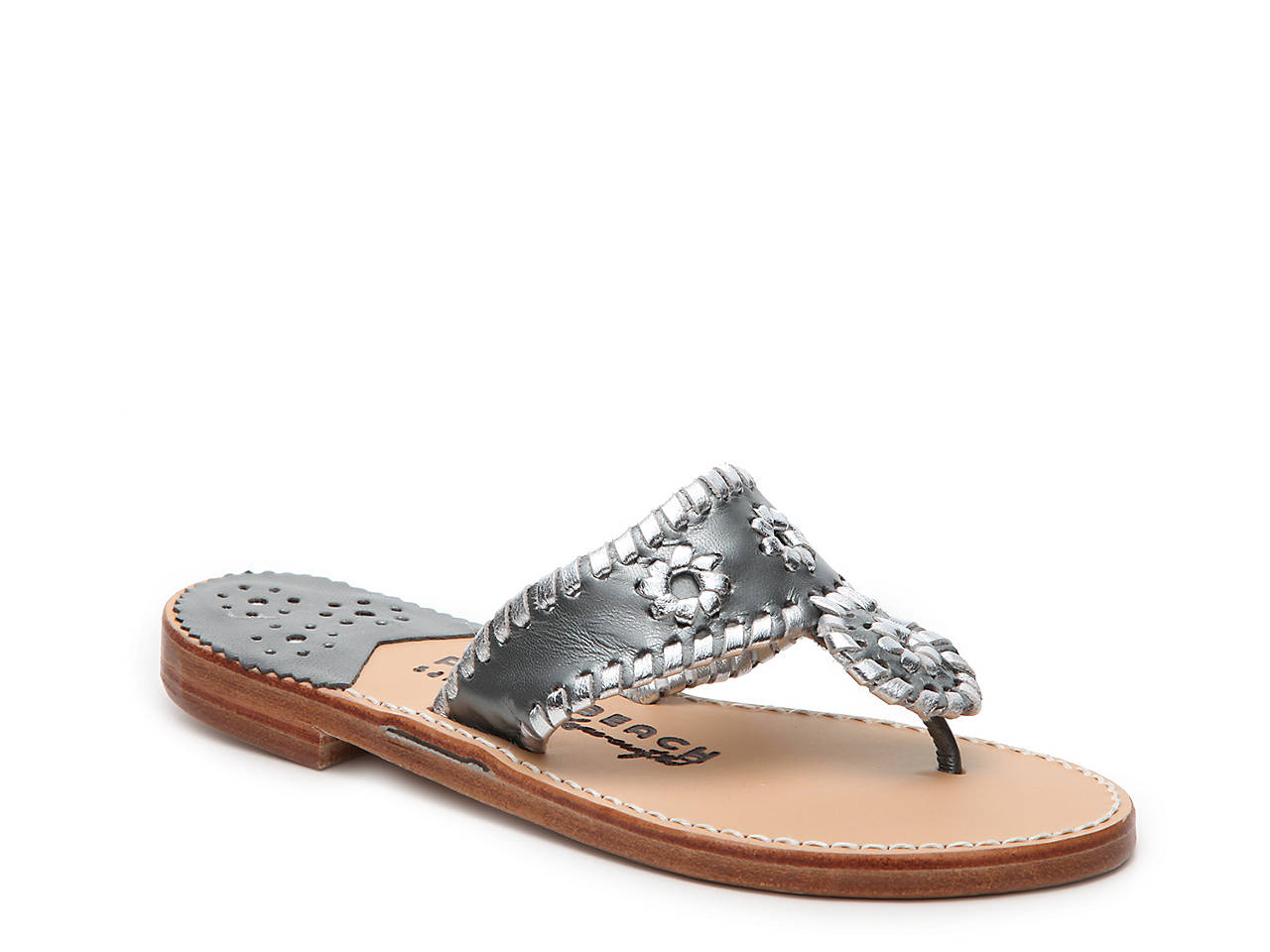 4b2f8400106e97 Palm Beach Sandals Classic Flat Sandal Women s Shoes