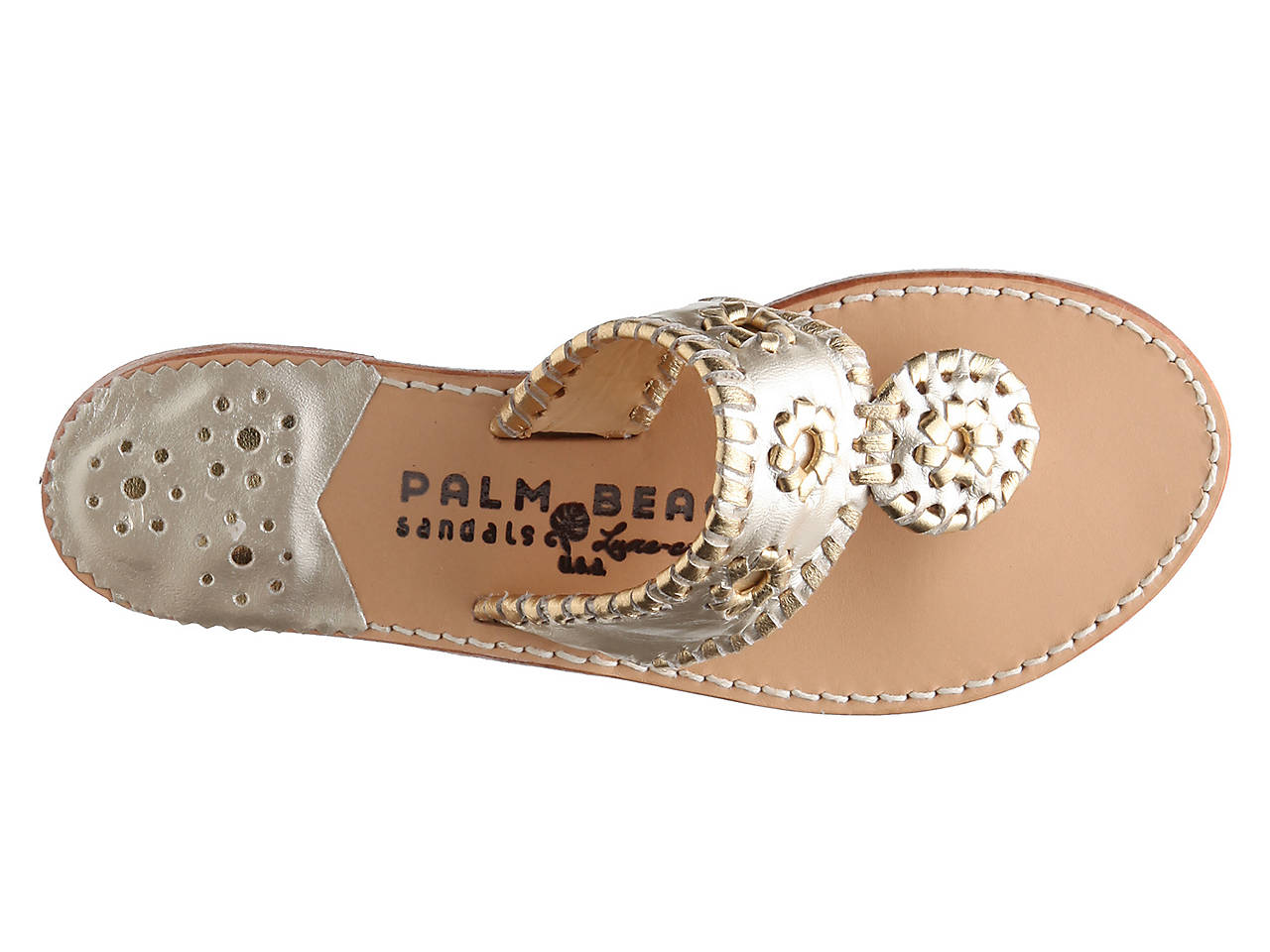 f713e3710016 Palm Beach Sandals Classic Flat Sandal Women s Shoes