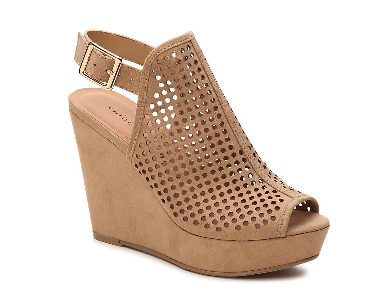chinese laundry z iris wedge sandal women s shoes dsw