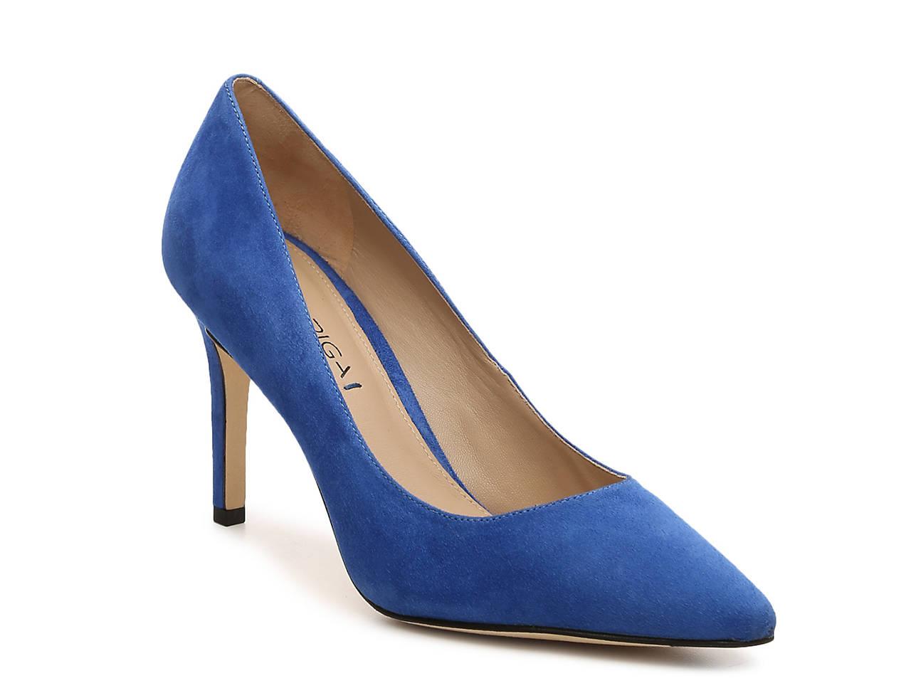7a79354a3ebd Via Spiga Carola Suede Pump Women s Shoes