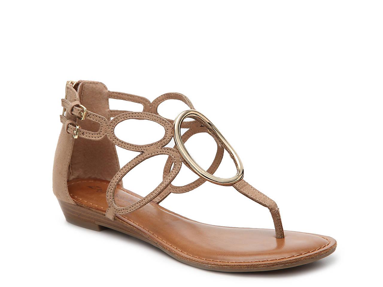 37a5e410606c Zigi Soho Markah Flat Sandal Women s Shoes