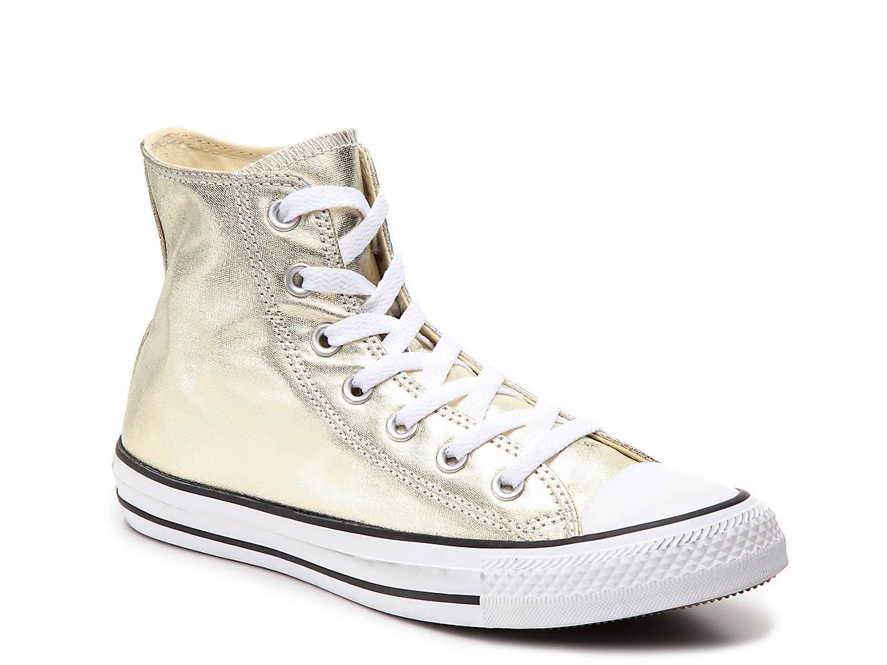 b565d4d4c8 Converse Chuck Taylor All Star Metallic High-Top Sneaker - Women's ...