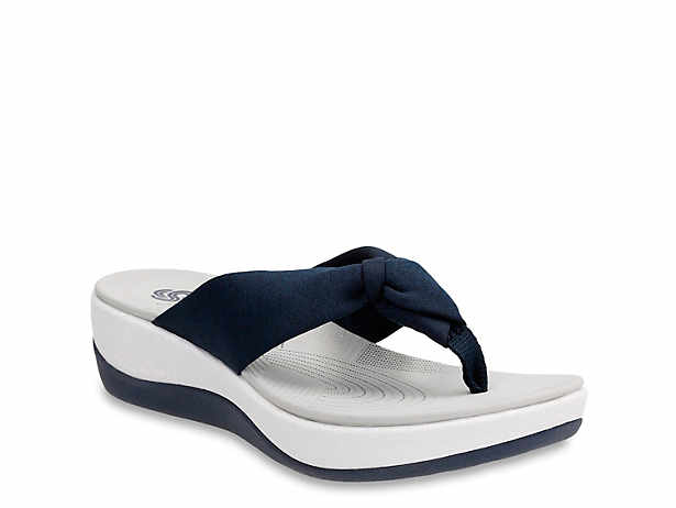 efc6a522dabe Cloudsteppers by Clarks. Arla Glison Wedge Sandal.  49.99. Comp. value   65.00