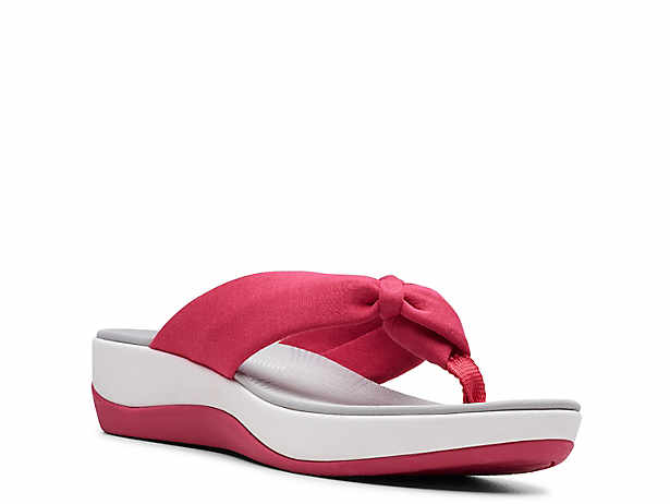995738ee4f4 Cloudsteppers by Clarks. Arla Glison Wedge Sandal