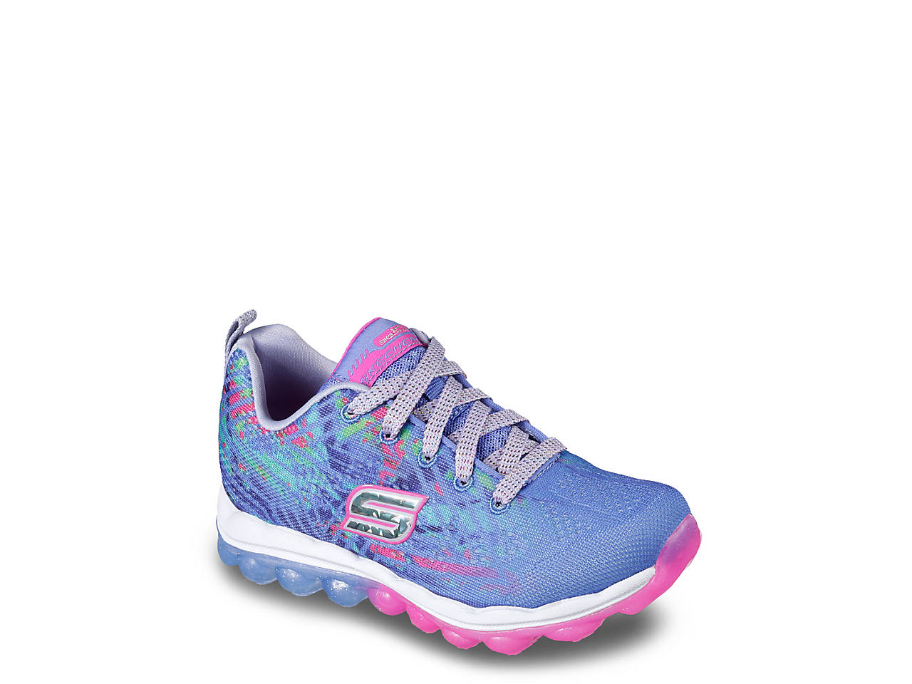 449f0d2f10ae Skech Air Jump Around Toddler   Youth Sneaker