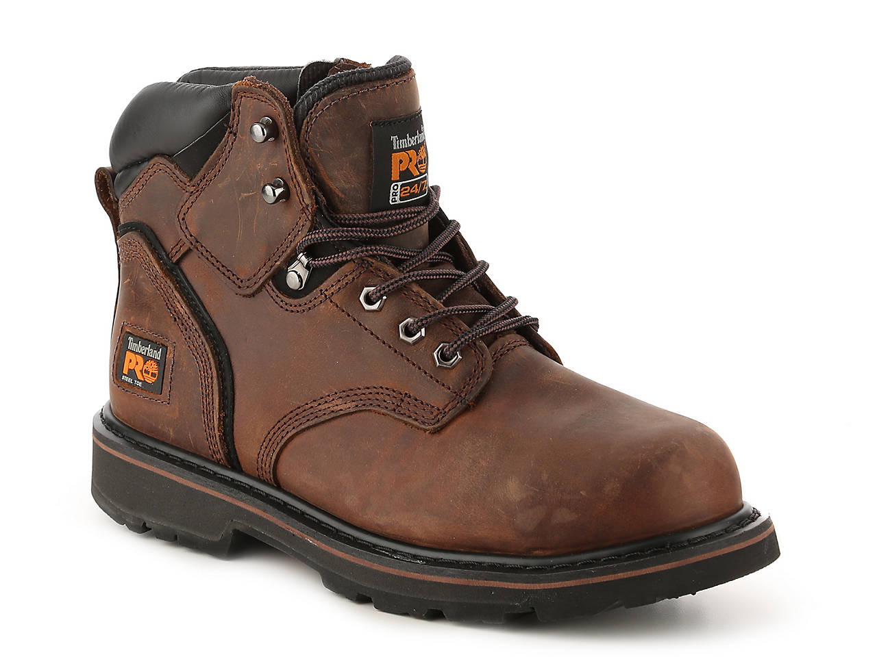 Timberland PRO Pit Boss Steel Toe Work Boot Men's Shoes | DSW