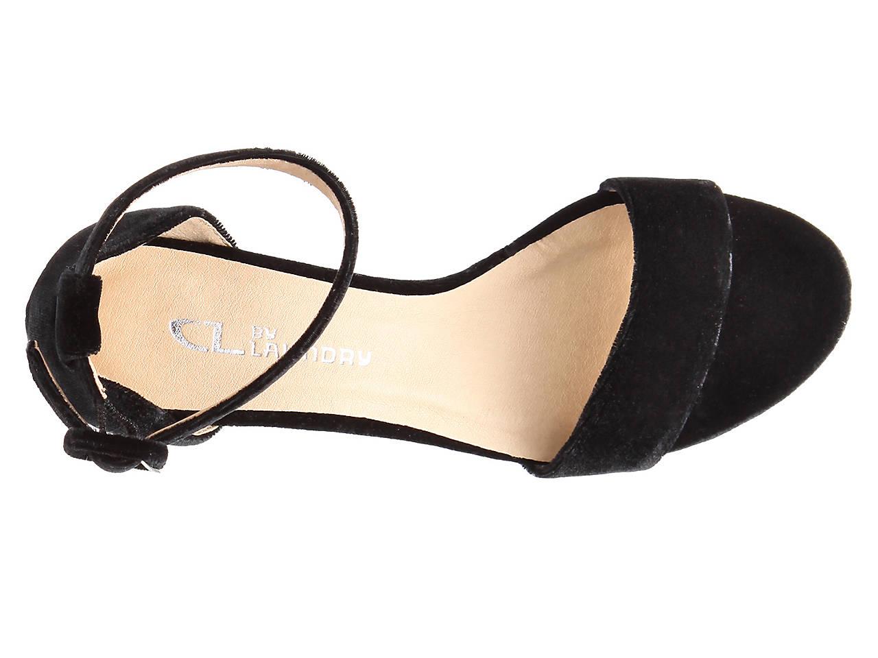 Cl By Laundry Jody Velvet Sandal Women S Shoes Dsw