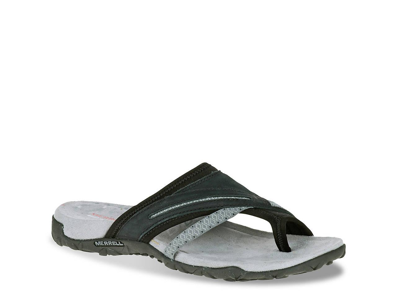 Merrell Terran Post Women's Wedge Heels Sandals 5849