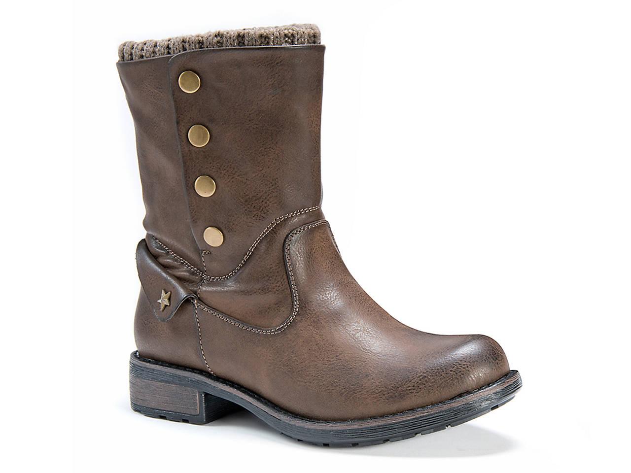 5b46dc29bb89 Muk Luks Crumpet Bootie Women s Shoes