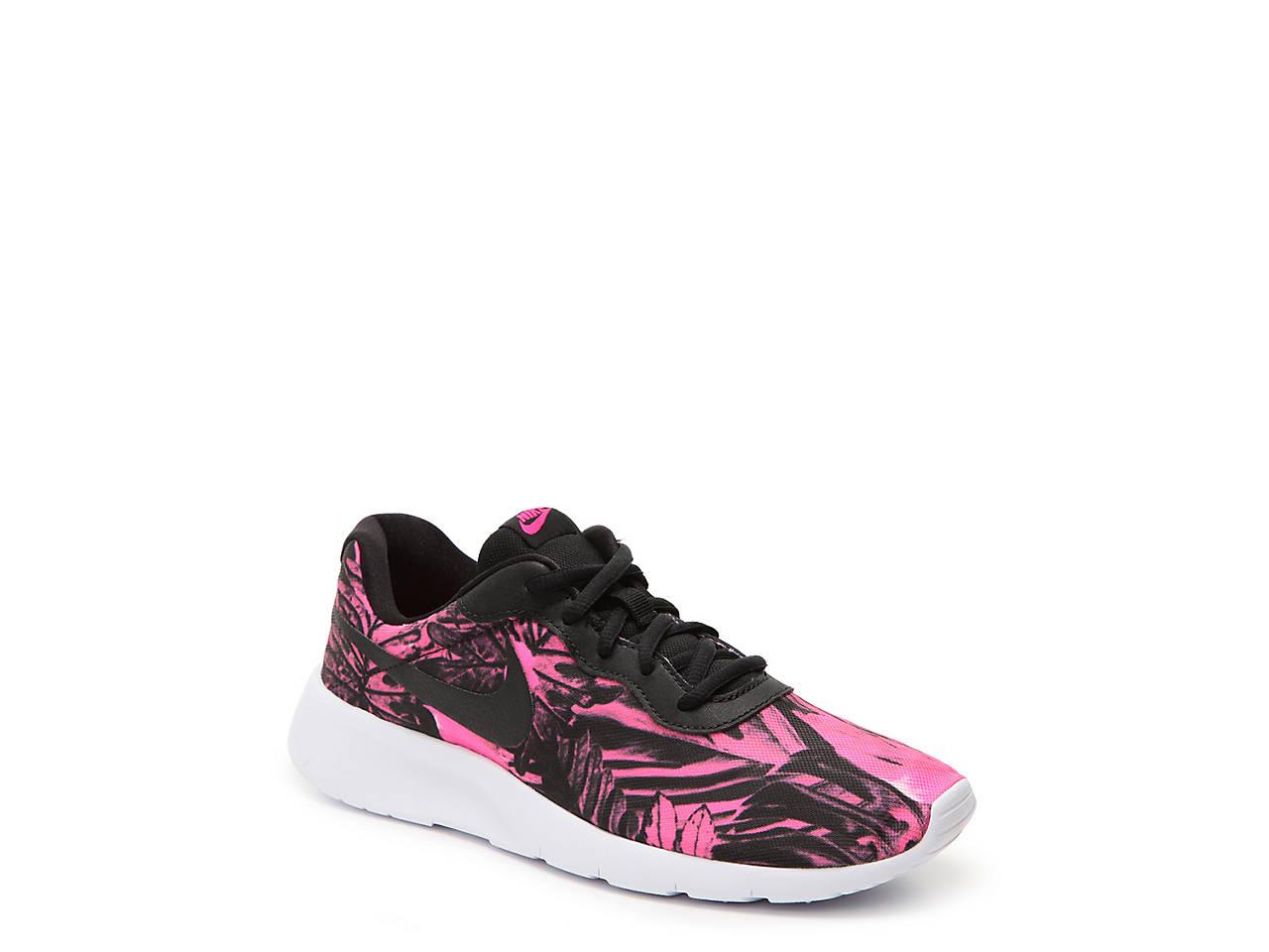 Nike Tanjun Print Youth Sneaker Kids Shoes DSW